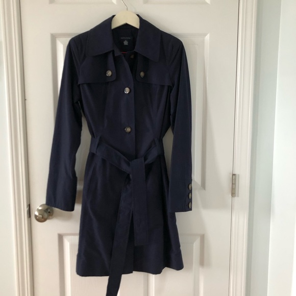 Tommy Hilfiger Jackets & Blazers - NWOT Tommy Hilfiger Trench Coat - Navy, Sz Medium
